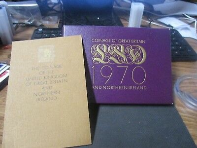 **1970 Proof Set** Coinage of Great Britain and Northern Ireland**8 Proof Coins*