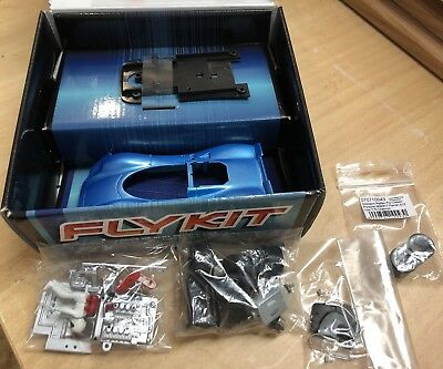Fly Porsche 908 Kit  Racing  Carrera  132  mit Ortmann Reifen  Tuning  Slotcar