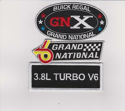 Regal Grand National Sew/iron On Patch Emblem Embroidered Turbo V6