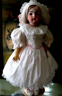 Vintage Doll Dress Only 4 Antique German Character Or French Bisque Head Sfbj