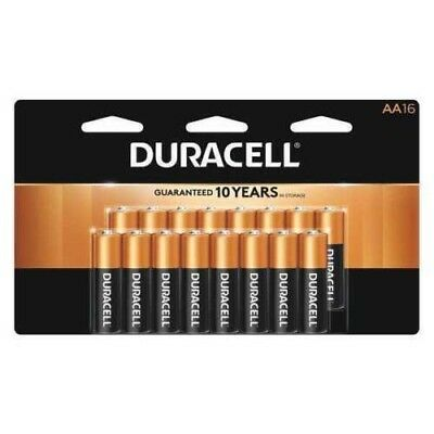 Duracell Coppertop AA Alkaline Batteries 16-Pack New Exp. 3/2027