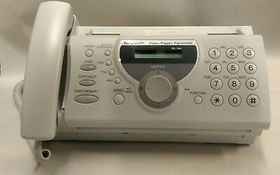 Sharp UX-P115 Plain Paper Fax Machine Phone Copier Facsimile - Used