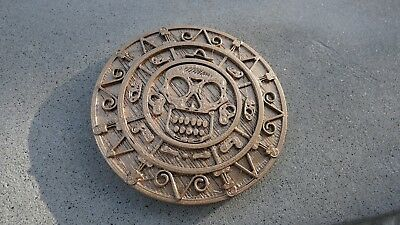 Pirates of the Caribbean gold piece Aztec coin movie prop replica