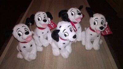 "101 Dalmatians 9"" Soft Toy AB7 (Lot of 5)"