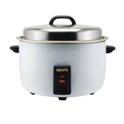 Rice Cooker / Steamer Large 10L Dry 23L Cooked 15Amp Commercial Kitchen Apuro