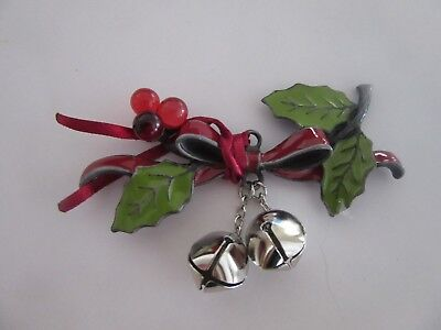 Longaberger 2012 Holiday Jingle Bell Tie On New In Package