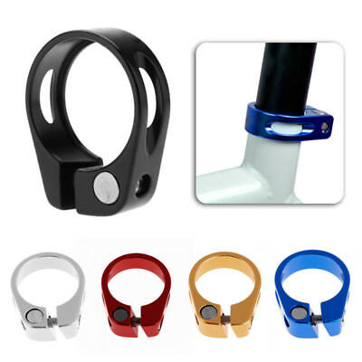 31.8//34.9mm Aluminum Alloy MQC Bike Bicycle Cycling Saddle Seat Post Clamp CH