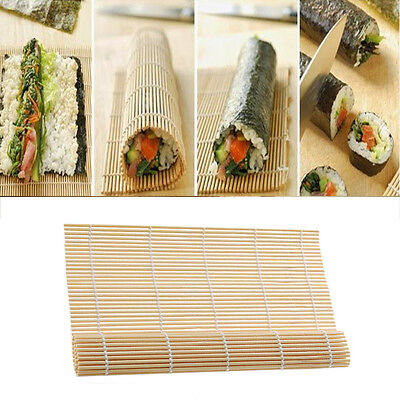 1X Sushi Kimbab Roll Maker Silicone Rolling Mat,Picnic lunch maker 240*230mm^