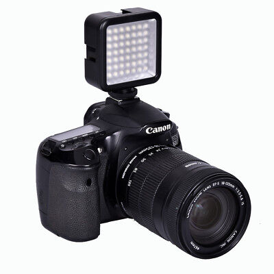LED-49 Video Light Lamp 49 LED Lights Fill-Light Flash for DSLR Camera Camcorder