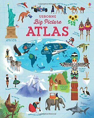 Big Picture Atlas (Atlases) by Emily Bone Book The Cheap Fast Free Post