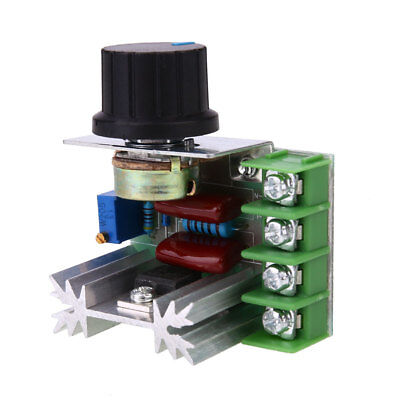 2000W 220V SCR Electronic Voltage Adjuster Modules Module Power Supply Green