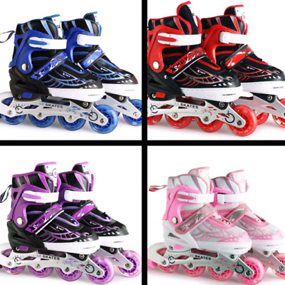 Adjustable Sizes Rollerblades Inline Skates Blades Girl Boy Roller Shoes Kids