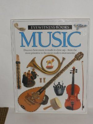 MUSIC: Eyewitness Books Book The Cheap Fast Free Post