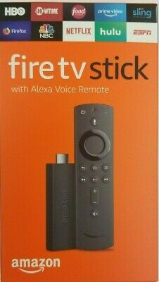 Amazon Fire Stick HD 2019 w/ new gen Alexa Voice Remote TENS OF THOUSNDS sold!