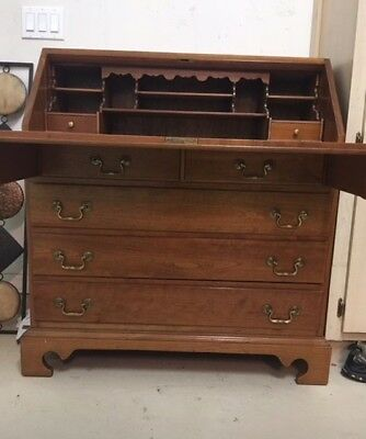 Antique Leopold Stickley Cherry Secretary Desk