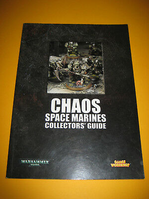 Warhammer 40k - Chaos Space Marines- Collectors' Guide - Englisch