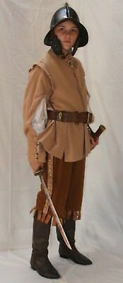 Large boy's C17 Civil war costume, 36 chest, very good condition