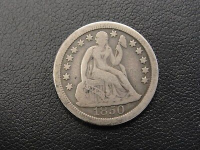 1850 O Seated Liberty Silver Dime * Nice Type Coin *