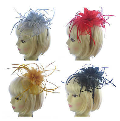 Large fascinator Ladies Day Ascot Races, Prom choice of colour, headband