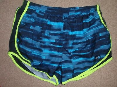 Womens X-Large XL Nike Dri Fit Tempo Print Brief Lined Athletic Running Shorts