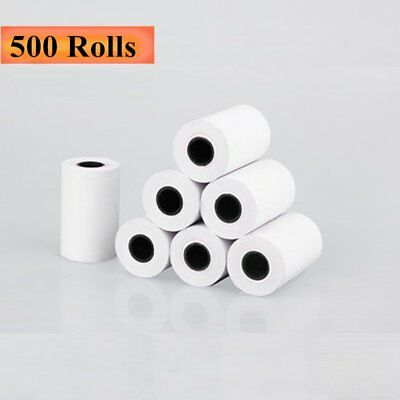 "2 1/4"" x 50' Thermal Receipt Credit Card Paper 500 Roll BPA Free Ingenico iCT220"