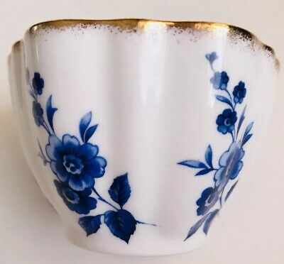 Elizabethan Fine Bone China England Trinket Dish Or Cup Blue Floral