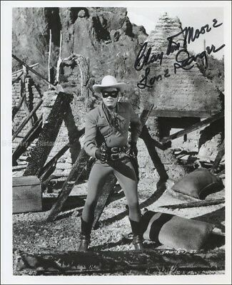 "Clayton ""The Lone Ranger"" Moore - Photograph Signed"