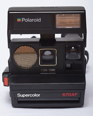 polaroid sofortbildkamera supercolor 1000 land camera mit bereitschaftstasche eur 6 99. Black Bedroom Furniture Sets. Home Design Ideas