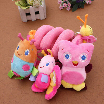 Baby Kids Cot Spiral Hanging Decoration Stroller Toys for Cot/Car Seat/Pram