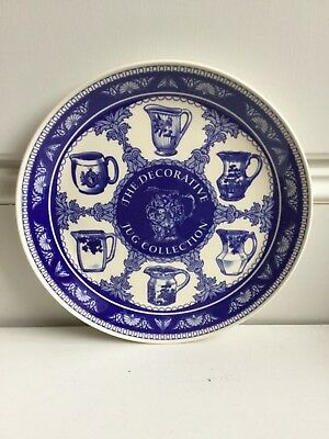 Jug collectors plate blue/white great piece country house style