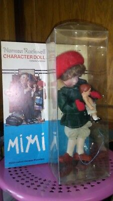 MIMI Norman Rockwell Character Doll Series Handcrafted Germany Porcelain