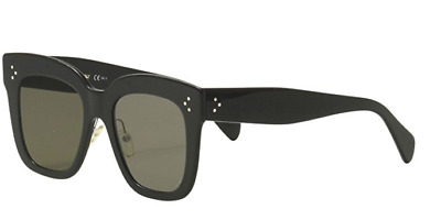 5533ae43d25 Celine CL41444 S 06Z Black 41444 S Square Sunglasses Lens Category 3 Size  51mm