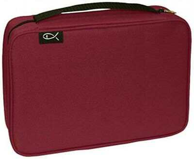 Divinity Boutique Bible Cover Basic Burgundy, XXL (21450)