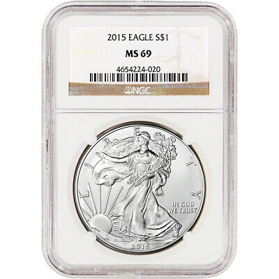 2015 American Silver Eagle - NGC MS69