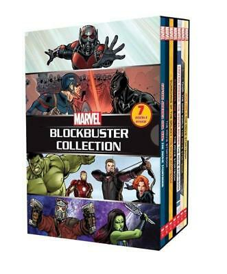 NEW Marvel 7 Book Blockbuster Collection Hardcover Free Shipping