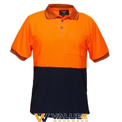 Prime Mover Short Sleeve Micro Mesh MP110 Value Workwear