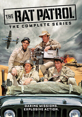 The Rat Patrol: The Complete Series [New DVD] Boxed Set, Full Frame