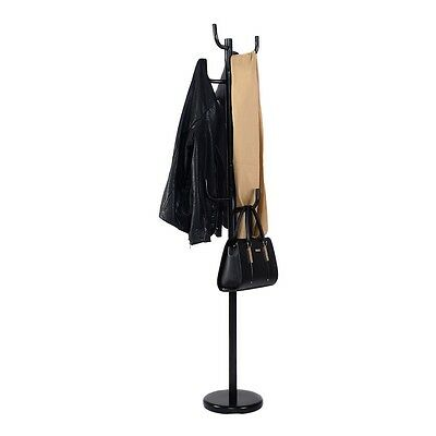 "69"" Home Coat Rack Hat Stand Tree Hanger Hall Umbrella Storage Holder Hooks US"