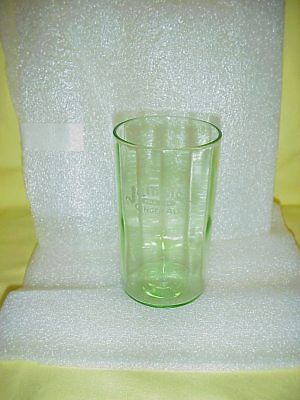 John Graf Jamaica Pale Dry Ginger Ale Green Etched Glass Near Mint