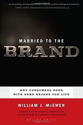 Married to the Brand by McEwen, William J. Paperback Book The Cheap Fast Free