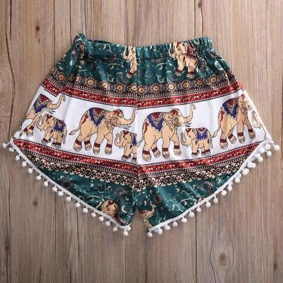 Women Sexy Hot Pants Summer Casual Short Pants High Waist Sport Beach Shorts US