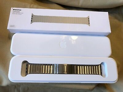 Original Apple Watch Link Bracelet band 316L stainless steel alloy 38mm SILVER