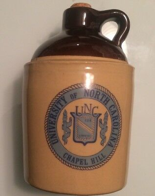 Vintage Whiskey Jug University of North Carolina UNC Tar heels!