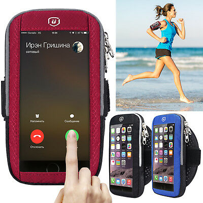 Sport Armband Running Jogging Gym Arm Band Bag Screen Touch Case For Cell Phone