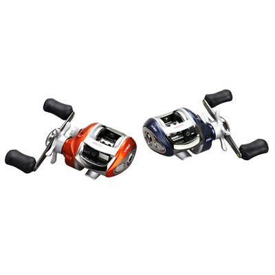 YUMOSHI 12+1BB Bait Casting Fishing Reel Magnetic brake Water Drop Wheel CoiJ8H5