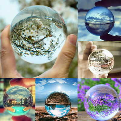 Fashion Crystal Photography Lens Ball Photo Prop Background Lensball Home Decor