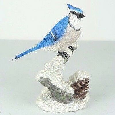 "Blue Jay Bird - Collectible Figurine Miniature 4.75""H New"
