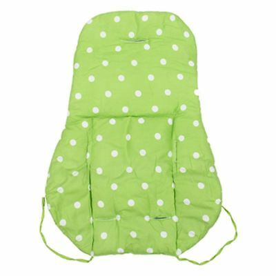 Thick Baby Infant Stroller Car Seat Pushchair Cushion Cotton Cover Mat Gree E9U3