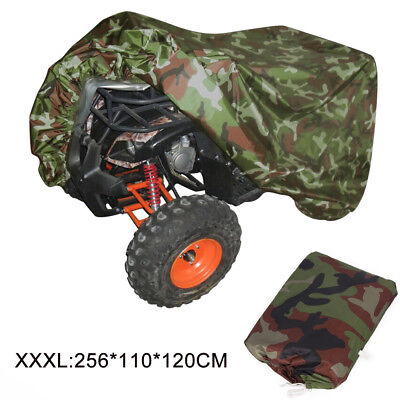 XXXL Waterproof Heatproof Quad Bike ATV Storage Cover 190T Polyester Fiber + Bag