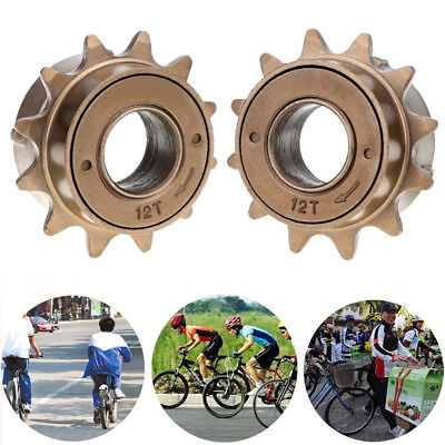 34MM 12 Tooth Single Speed Bicycle Freewheel Bike Sprocket Gear Accessory WH